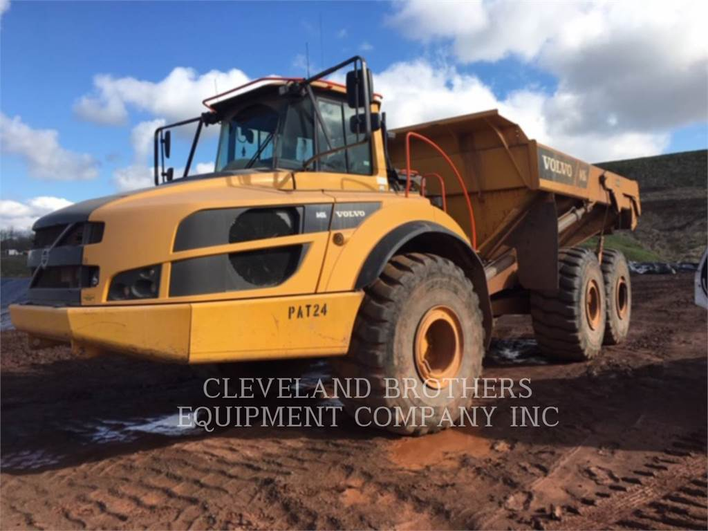 Volvo A40G, Articulated Dump Trucks (ADTs), Construction