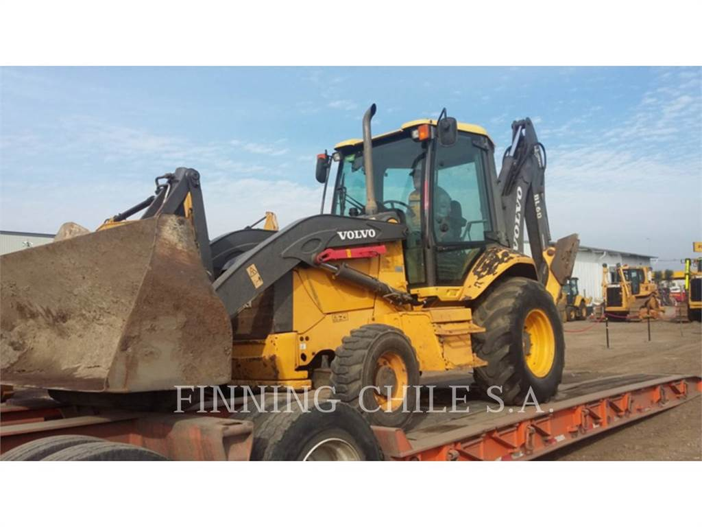 Volvo BL60, backhoe loader, Construction