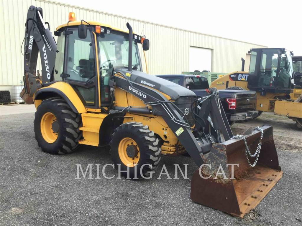 Volvo BL70B, backhoe loader, Construction
