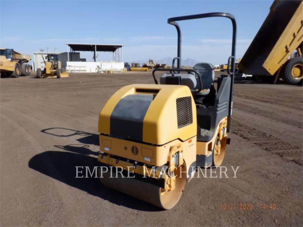 Volvo CONST. EQUIP. NA, INC. DD15, Twin drum rollers, Construction
