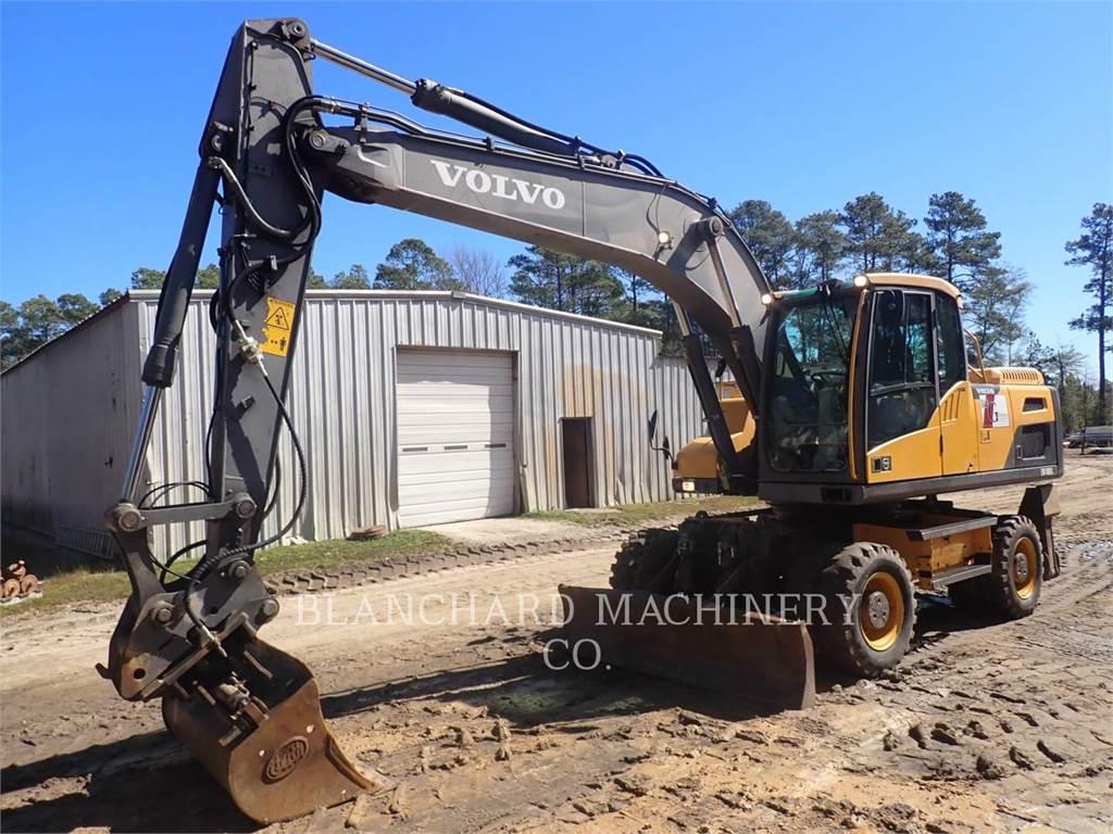 Volvo CONST. EQUIP. NA, INC. EW180D, Crawler Excavators, Construction