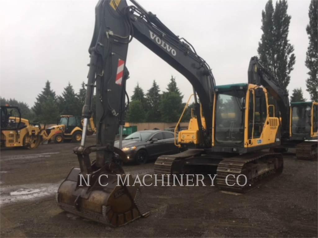 Volvo EC140BLC, Escavatori cingolati, Attrezzature Da Costruzione