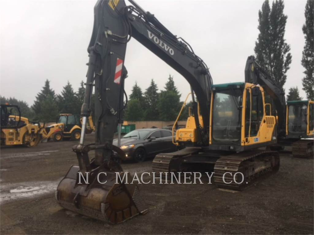 Volvo EC140BLC, Crawler Excavators, Construction