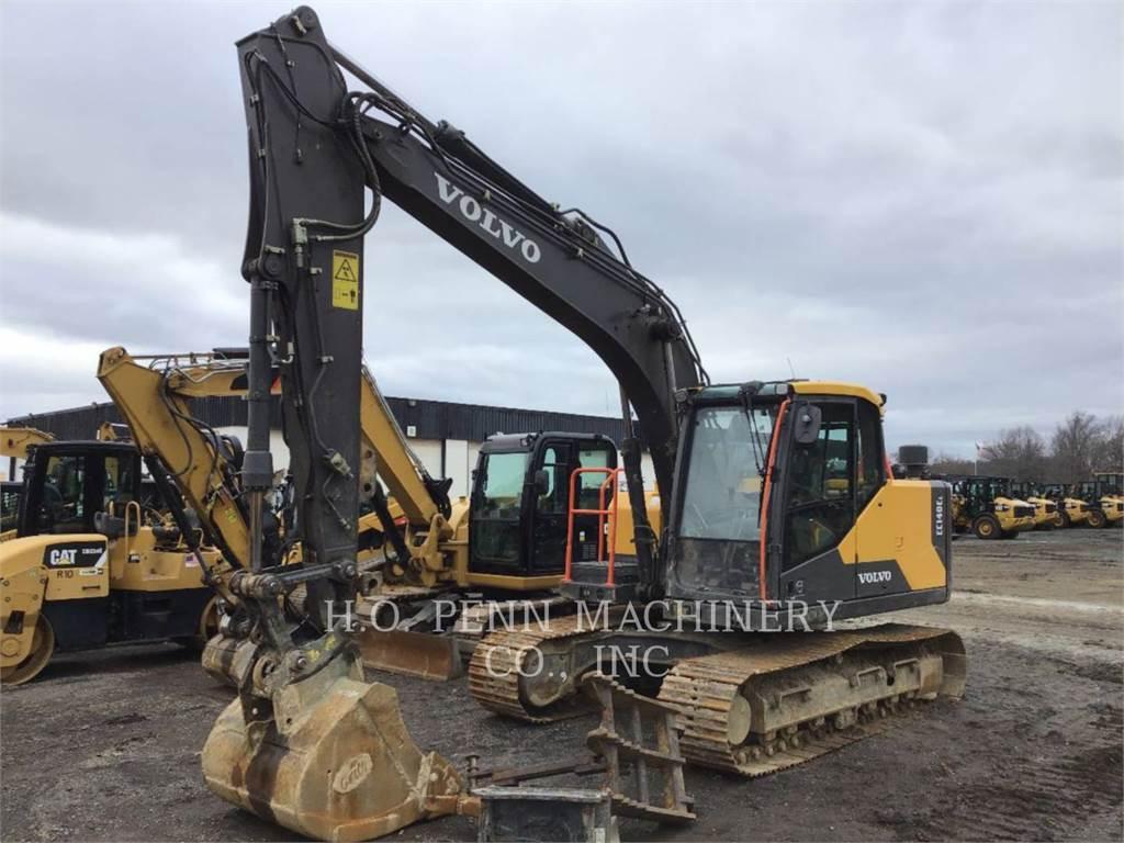 Volvo EC140L, Crawler Excavators, Construction