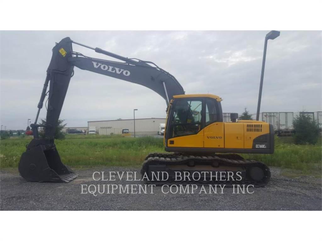 Volvo EC160CL, Raupenbagger, Bau-Und Bergbauausrüstung