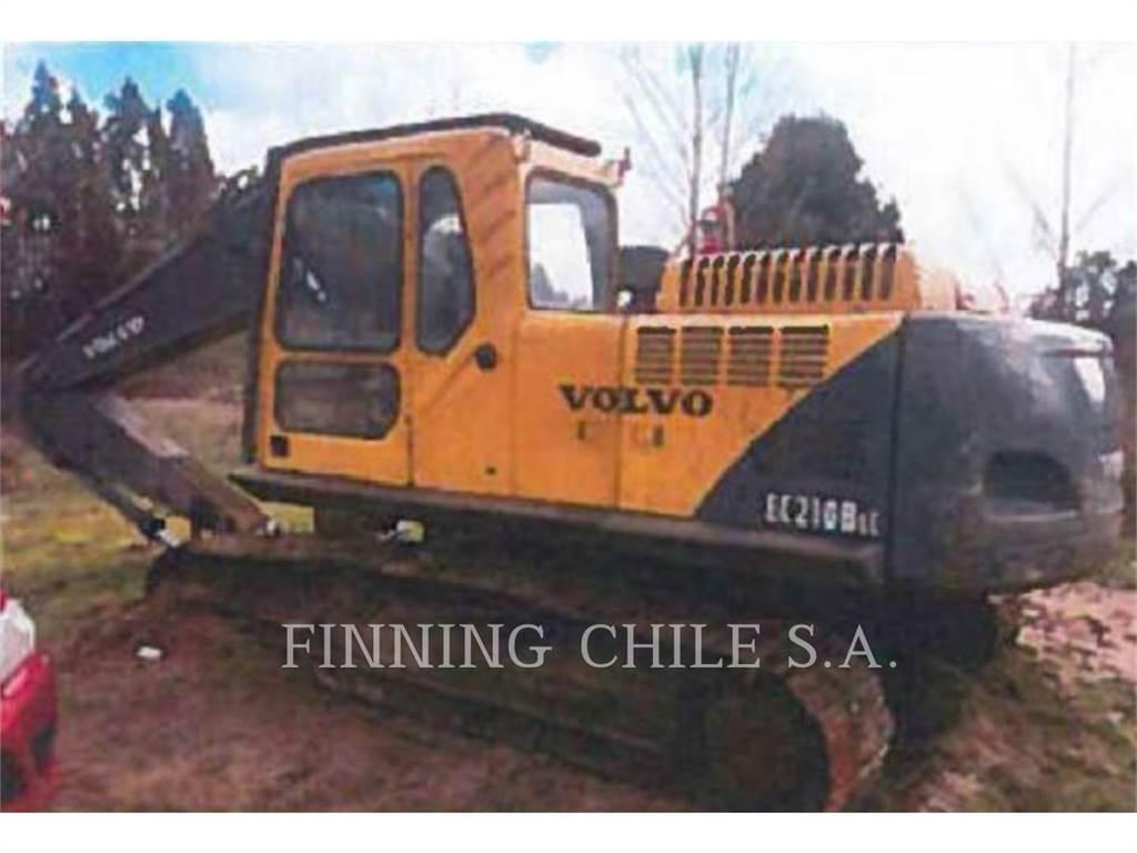 Volvo EC210B LC, Escavadoras de rastos, Equipamentos Construção