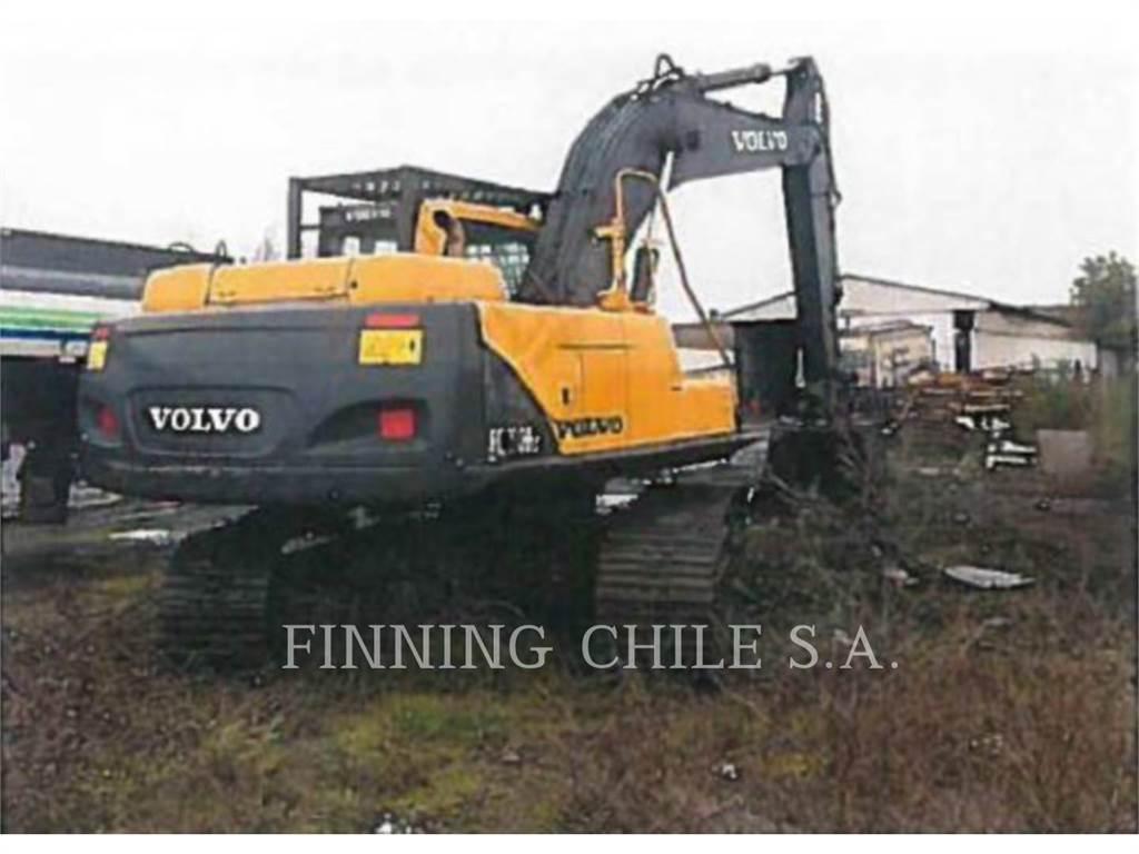 Volvo EC210B LC, Excavadoras de cadenas, Construcción