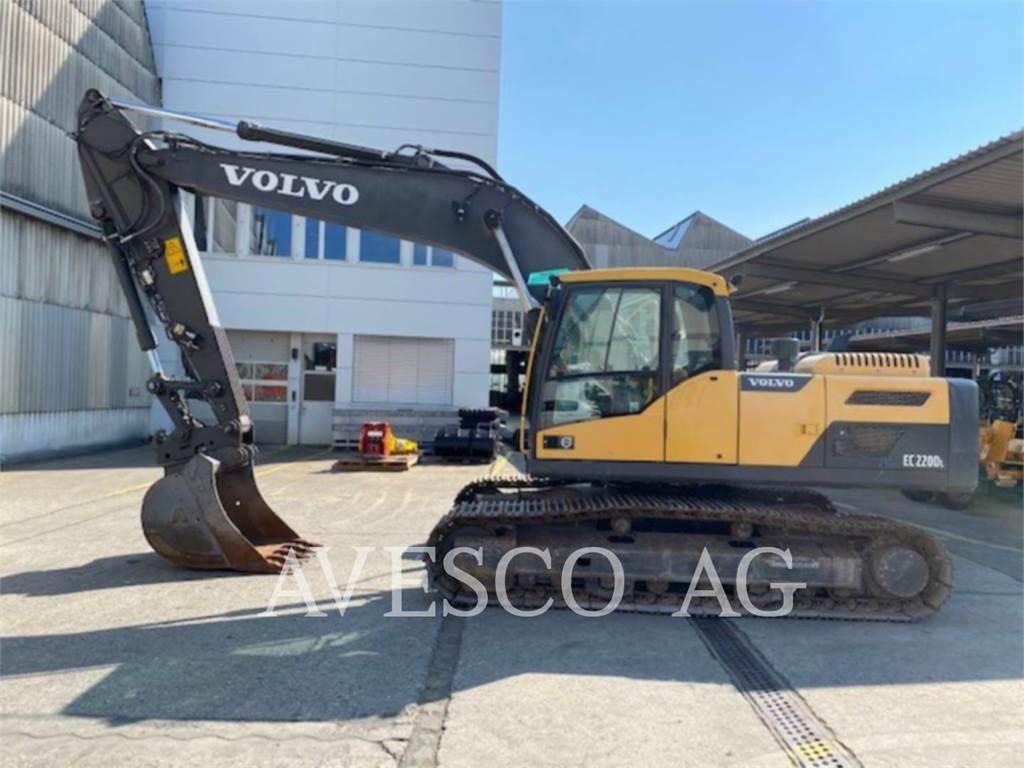 Volvo EC220DL, Crawler Excavators, Construction