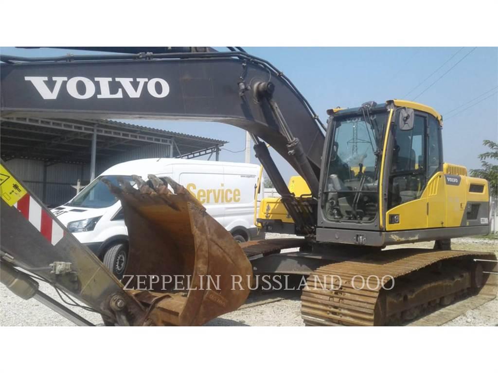Volvo EC220DL, Escavadoras de rastos, Equipamentos Construção