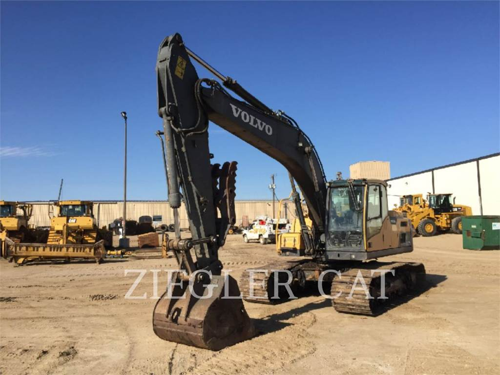 Volvo EC220DLC, Crawler Excavators, Construction