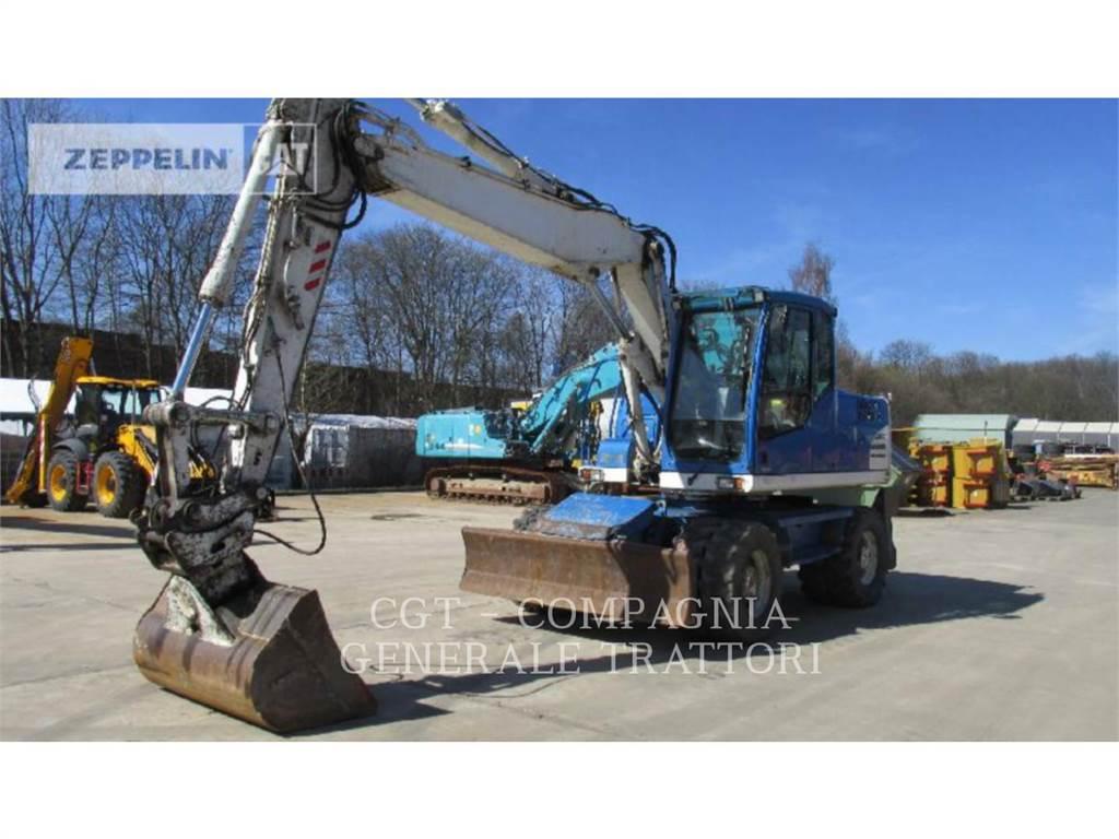 Volvo EC235, Excavadoras de cadenas, Construcción