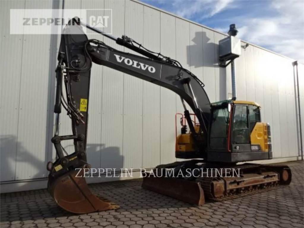 Volvo EC235E、履带挖掘机、建筑设备