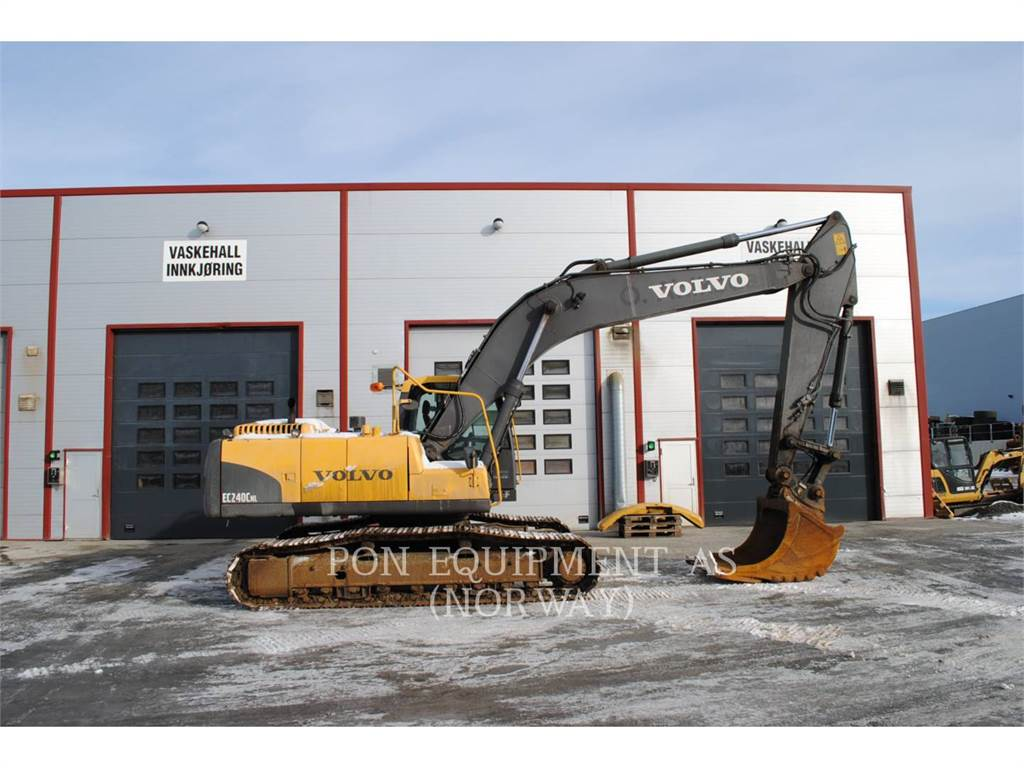 Volvo EC240NC, Crawler Excavators, Construction