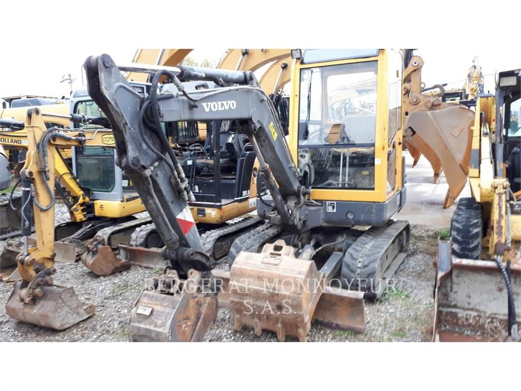 Volvo EC25, Crawler Excavators, Construction