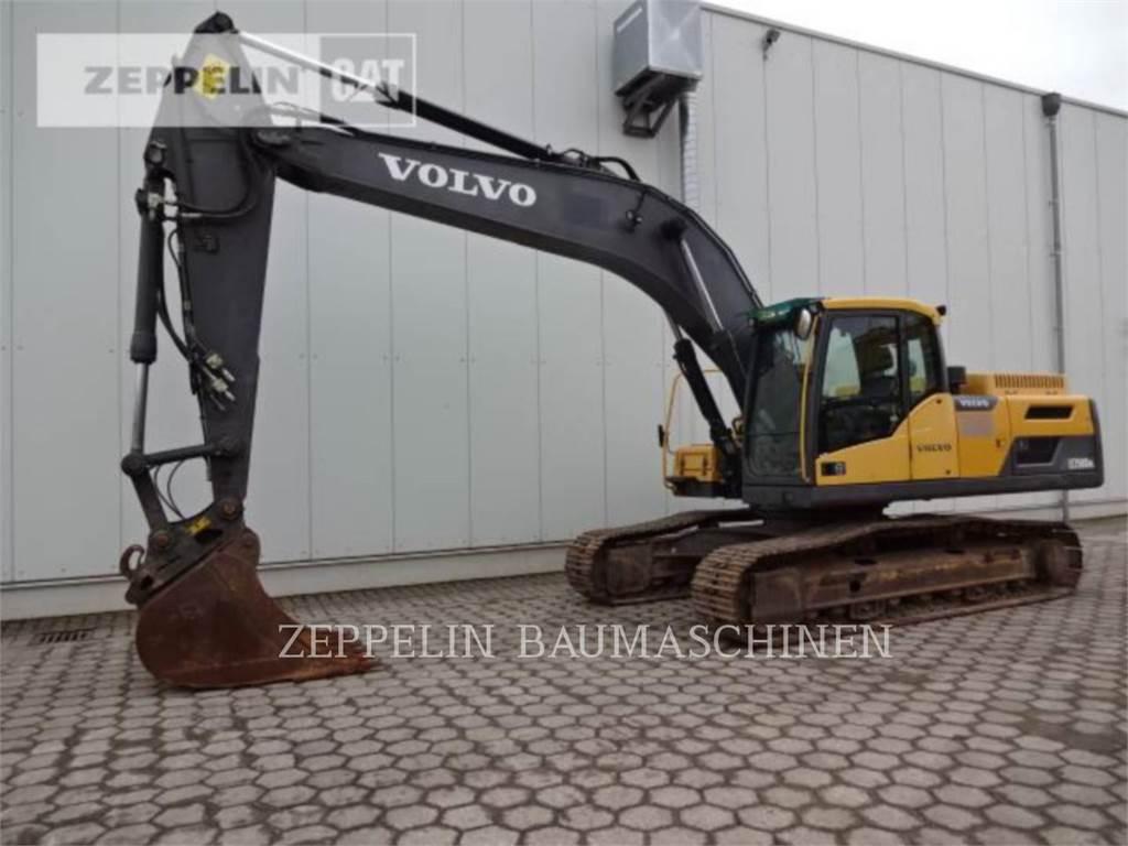 Volvo EC250D、大型油圧ショベル12t以上(パワーショベル・ユンボ)、建設