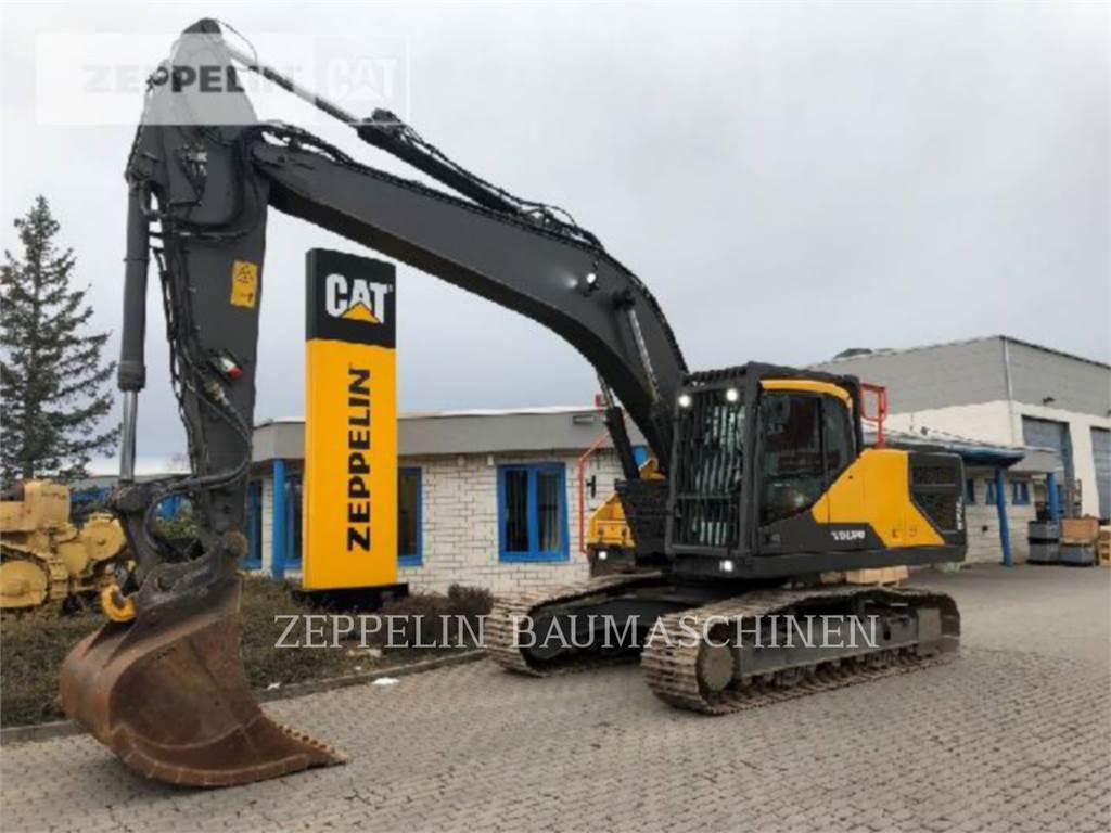 Volvo EC250E, Crawler Excavators, Construction