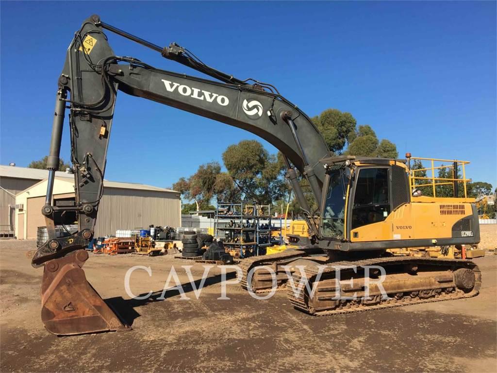 Volvo EC290CL、履带挖掘机、建筑设备