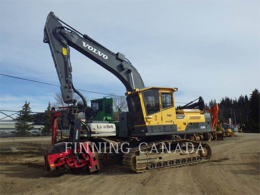 Volvo EC300DL, Forestry Excavators, Forestry Equipment