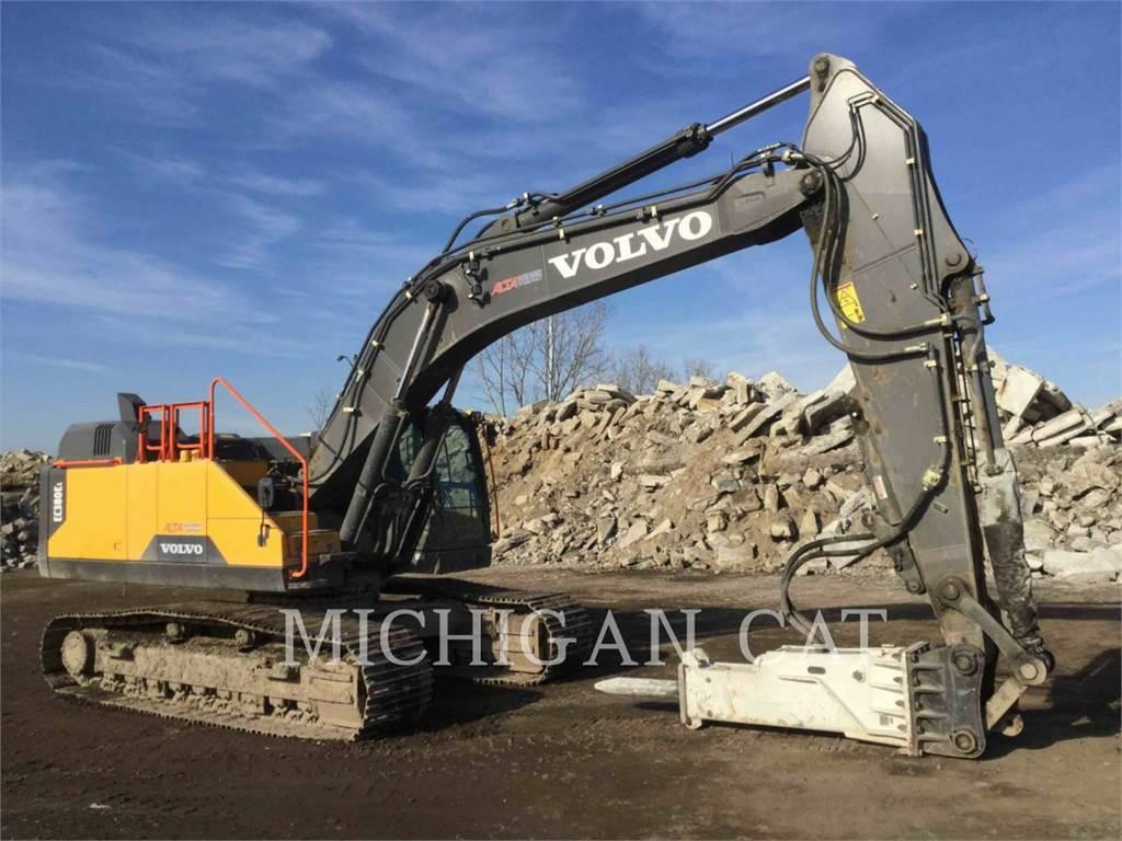 Volvo EC380EL, Raupenbagger, Bau-Und Bergbauausrüstung