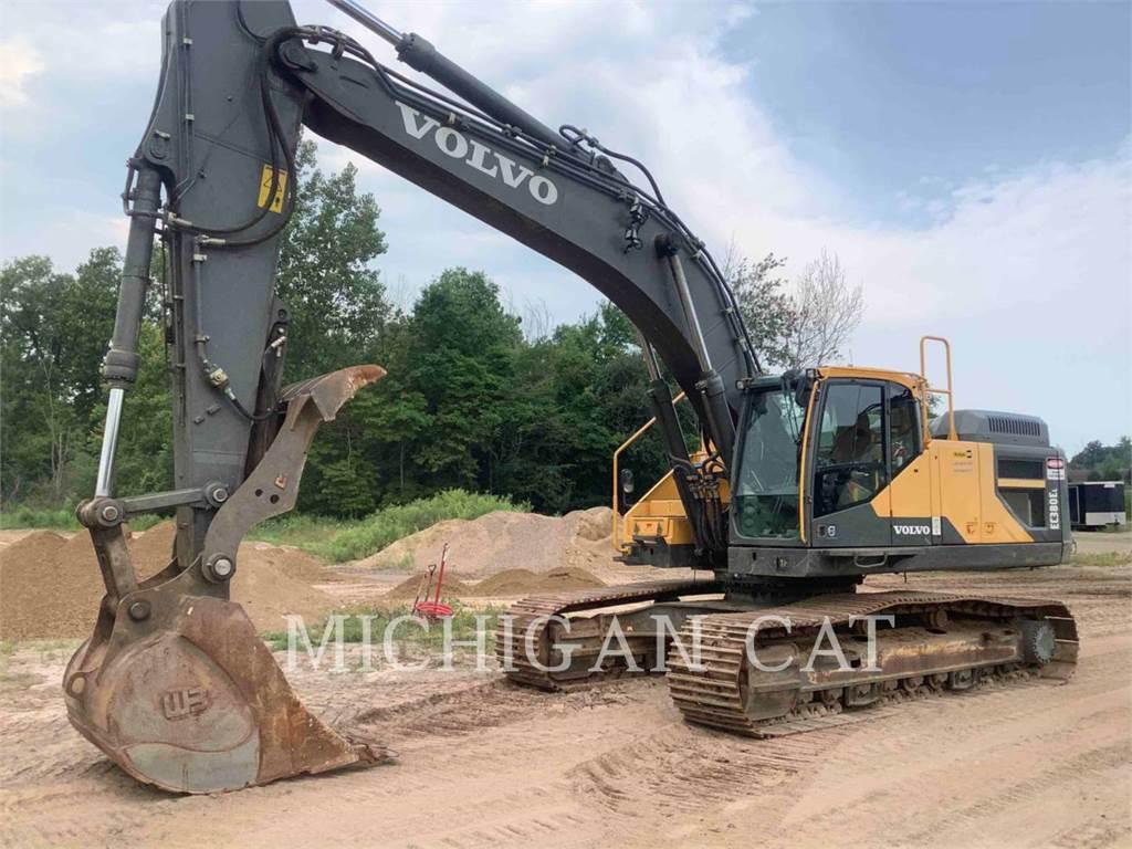 Volvo EC380EL, Crawler Excavators, Construction