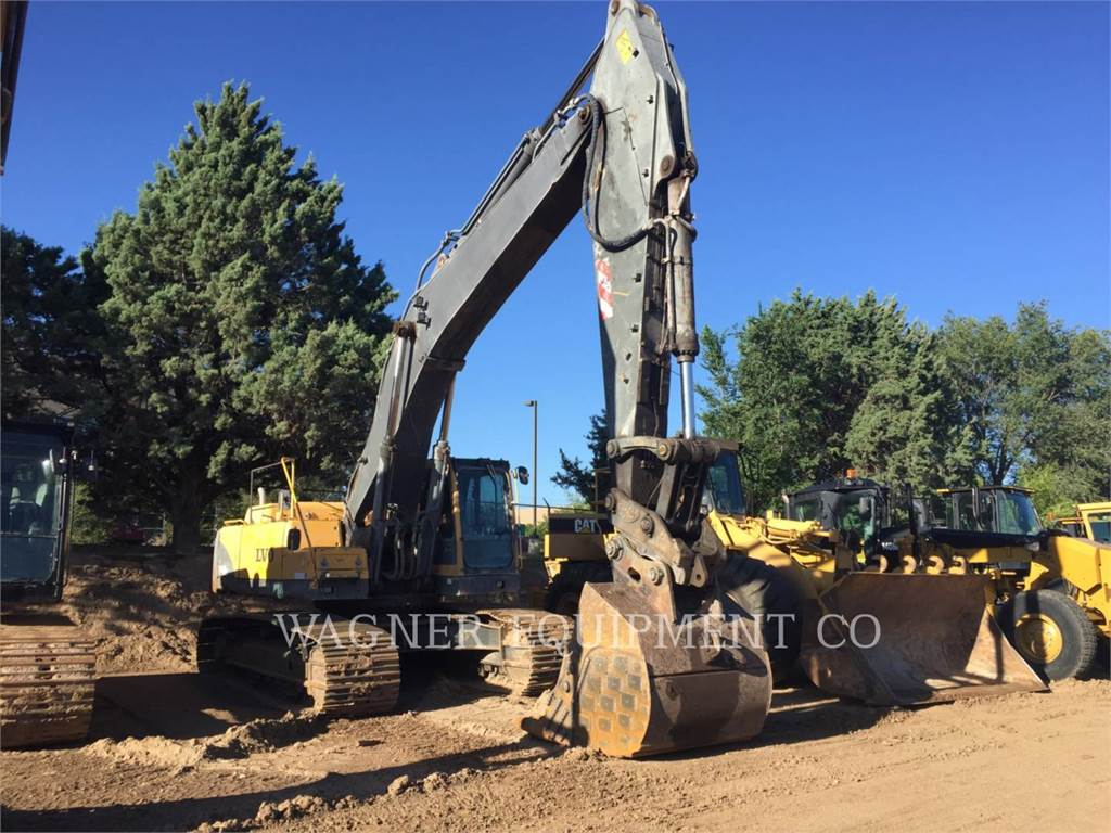 Volvo EC460B LC, Crawler Excavators, Construction