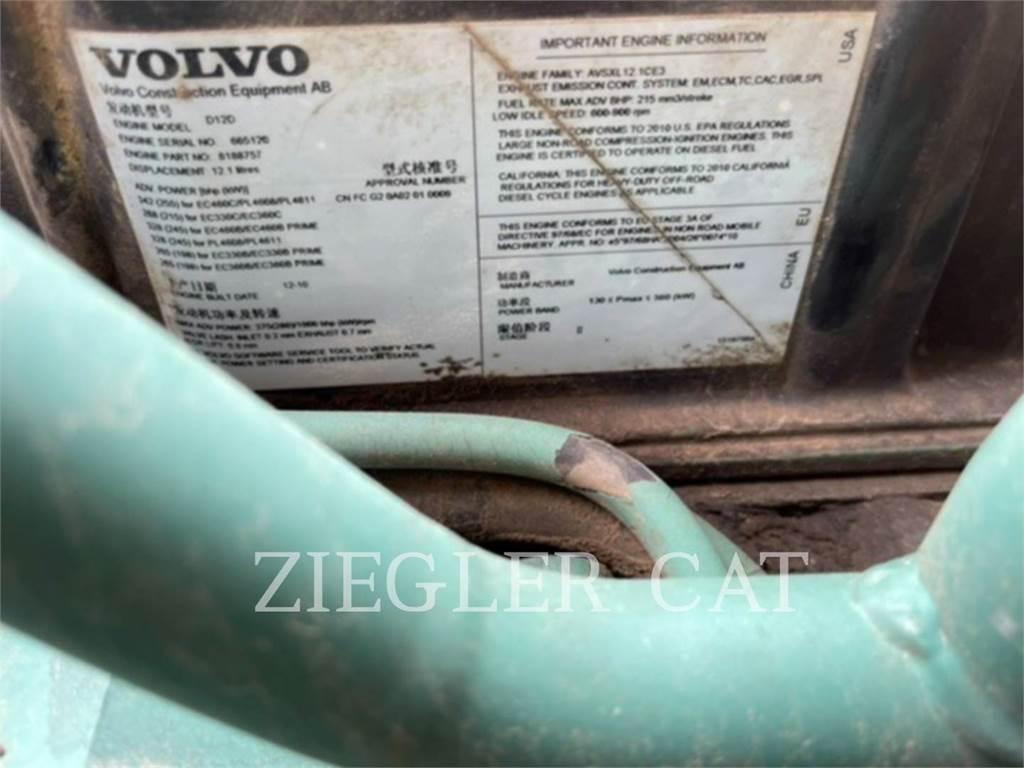 Volvo EC460CL, Crawler Excavators, Construction