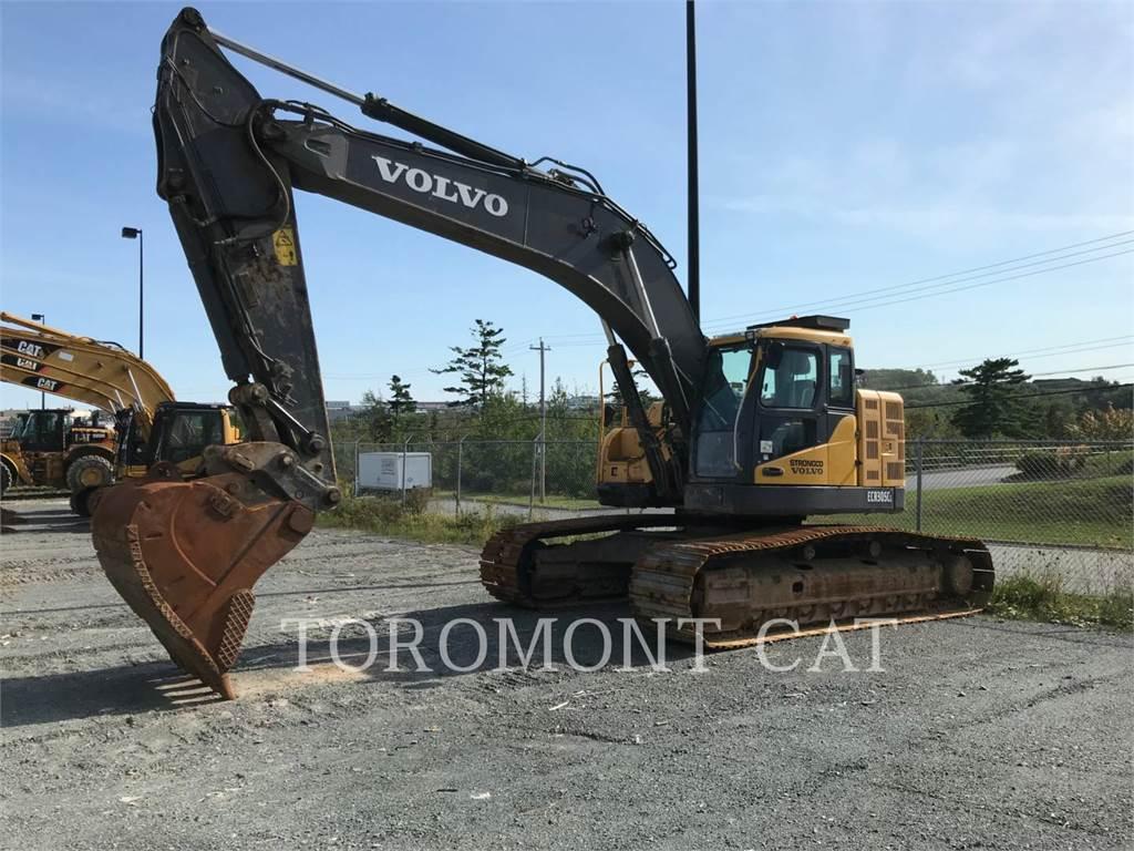 Volvo ECR305CL, Crawler Excavators, Construction