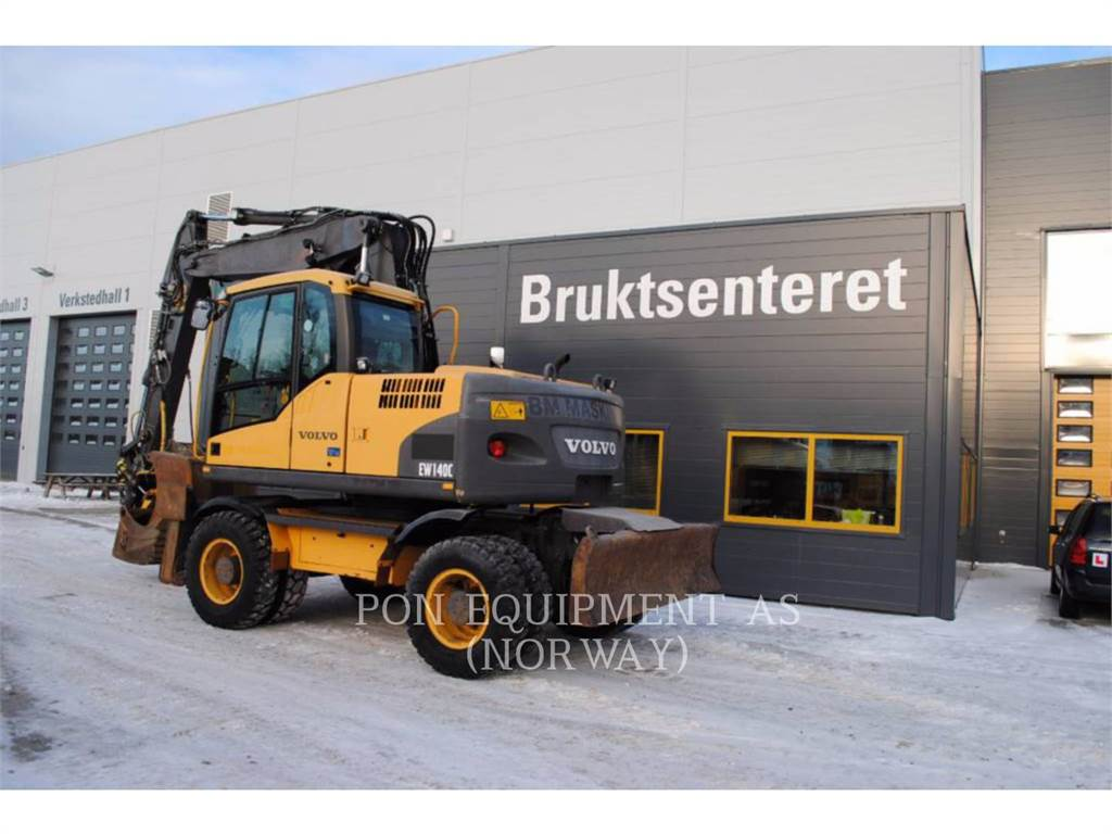 Volvo EW140C, Excavadoras de cadenas, Construcción