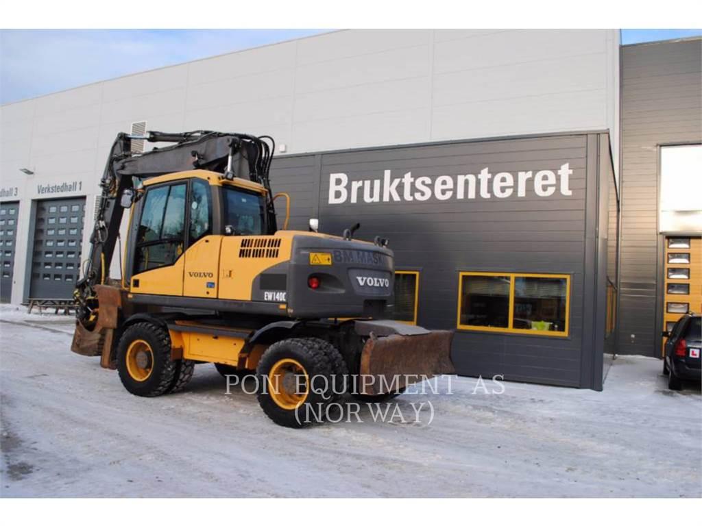 Volvo EW140C, Raupenbagger, Bau-Und Bergbauausrüstung