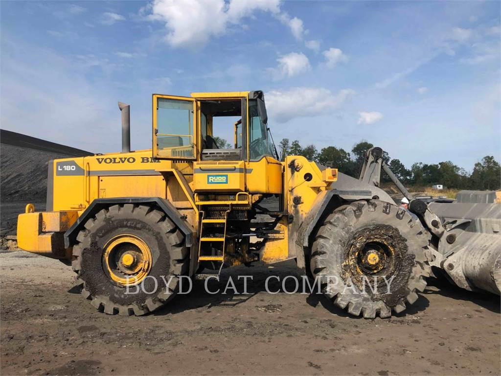 Volvo L180, Wheel Loaders, Construction