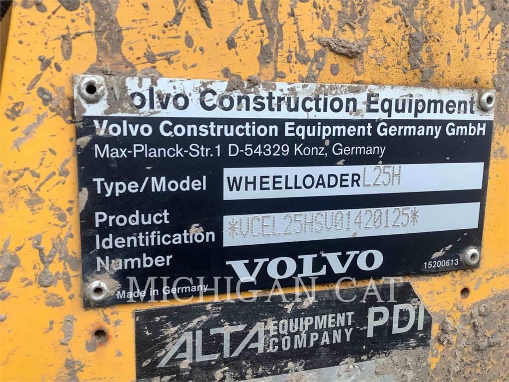 Volvo L25H, Wheel Loaders, Construction