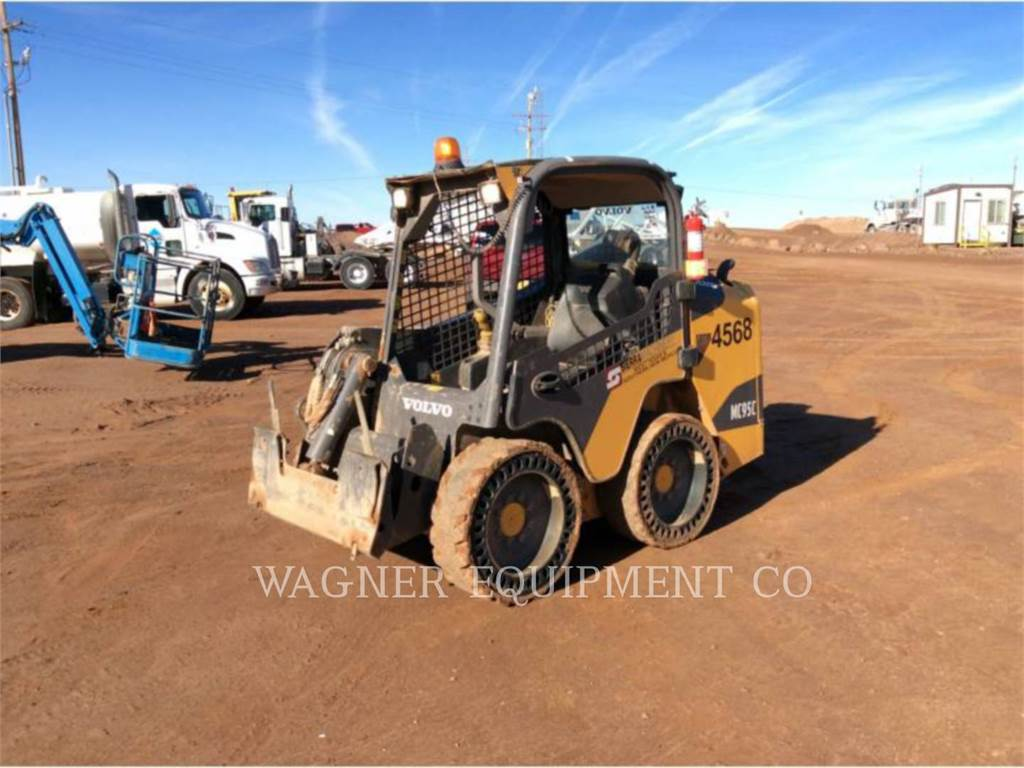 Volvo MC95C, Skid Steer Loaders, Construction