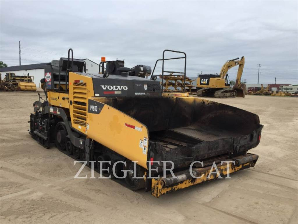 Volvo PF6110, Asphalt pavers, Construction
