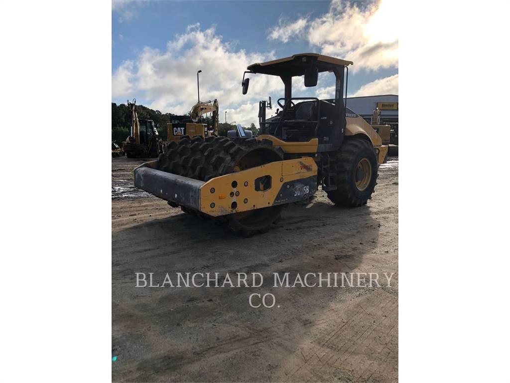 Volvo SD115B, Single drum rollers, Construction