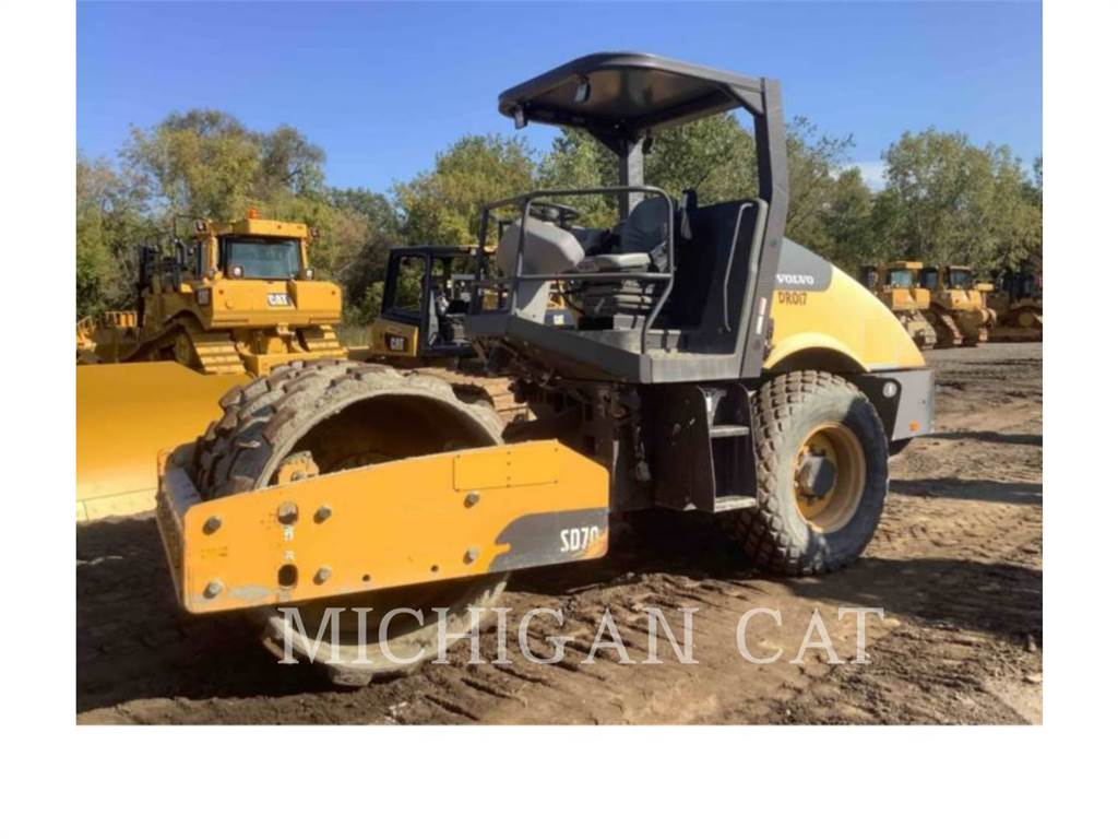 Volvo SD70, Single drum rollers, Construction