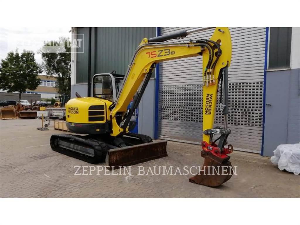 Wacker 75Z3, Crawler Excavators, Construction