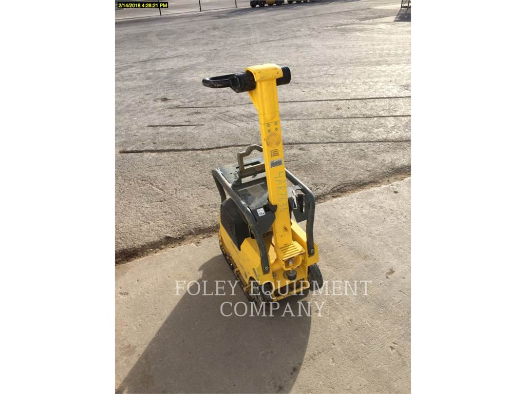 Wacker BPU2540A, Waste Compactors, Construction