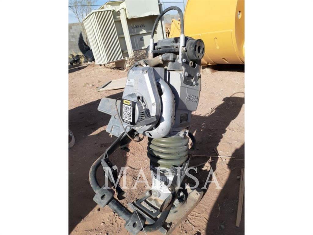 Wacker BS60-2I, compactador da placa vibratória, Equipamentos Construção
