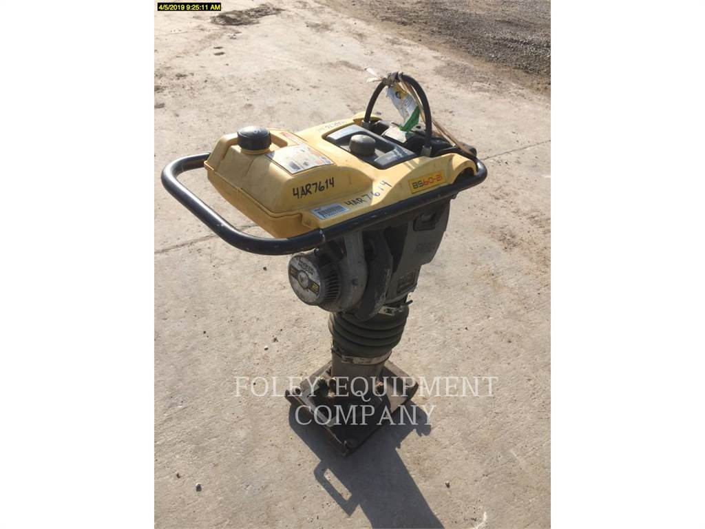 Wacker BS602I, Compactors, Construction