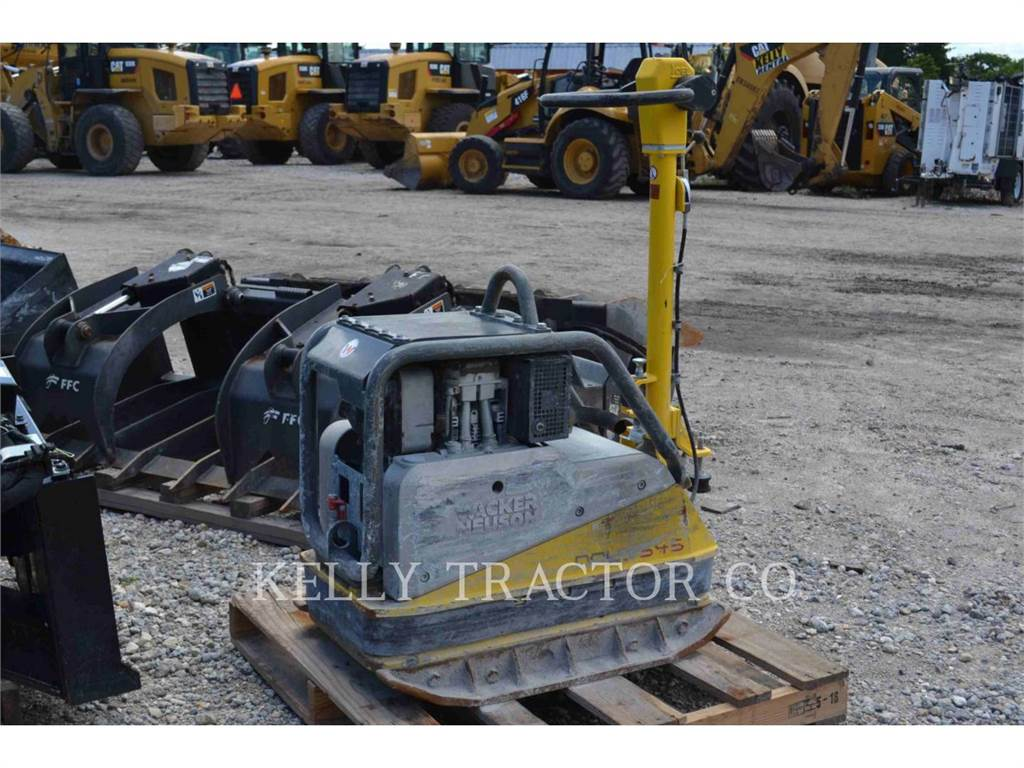Wacker DPU5545HE, ag - vibrationsplattenverdichter, Bau-Und Bergbauausrüstung