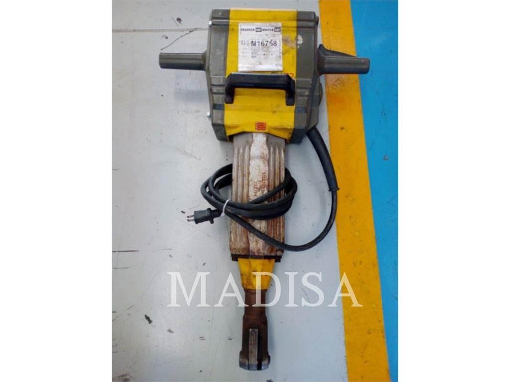 Wacker EH27, herramienta de trabajo - martillo, Construcción