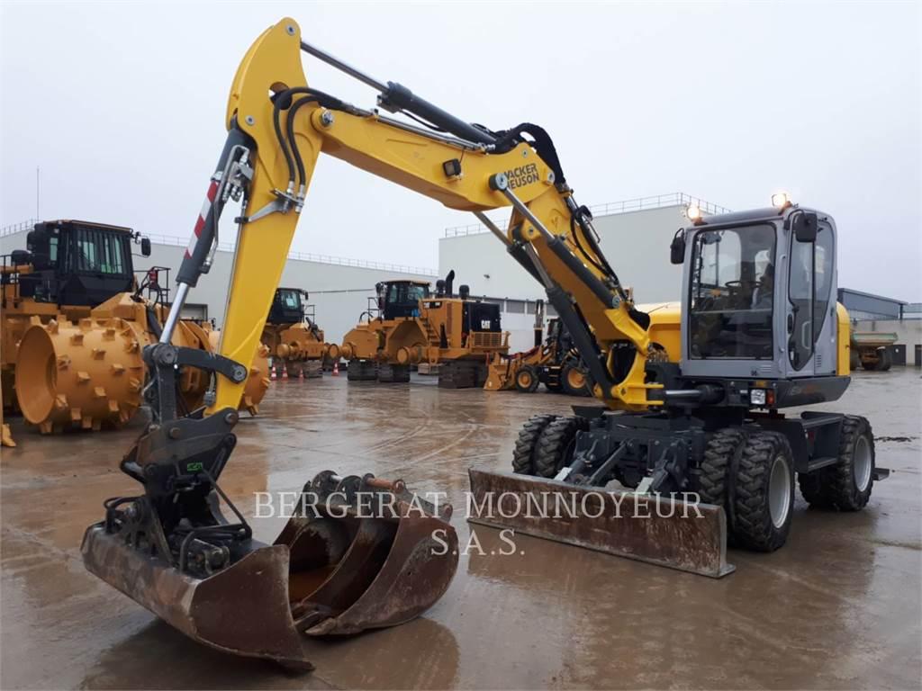 Wacker EW100, Crawler Excavators, Construction