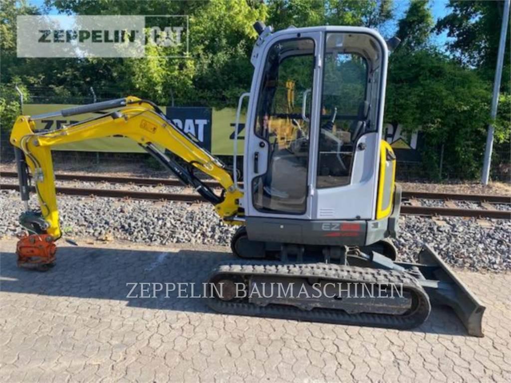 Wacker EZ28, Crawler Excavators, Construction