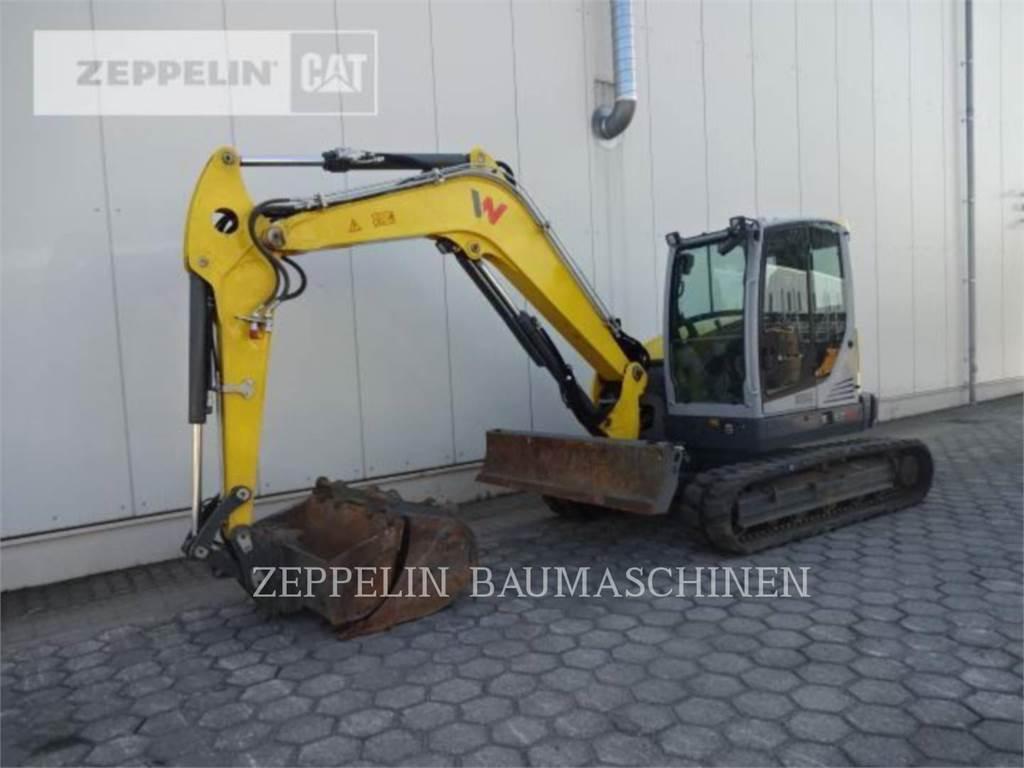 Wacker EZ80, Raupenbagger, Bau-Und Bergbauausrüstung