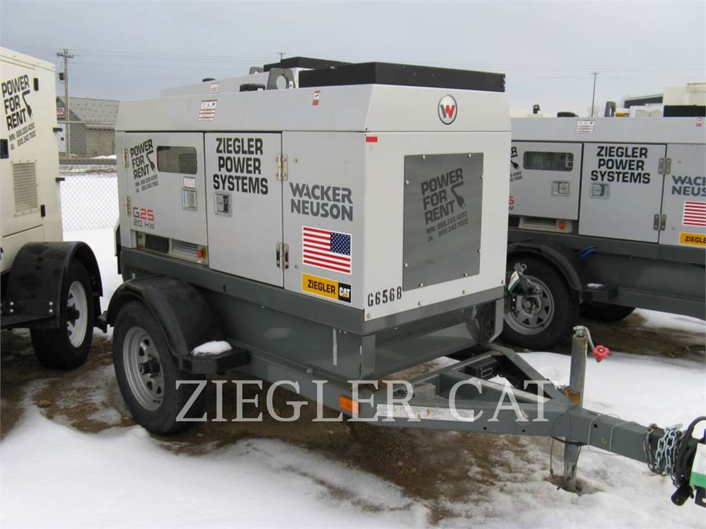 Wacker G25, Stationary Generator Sets, Construction