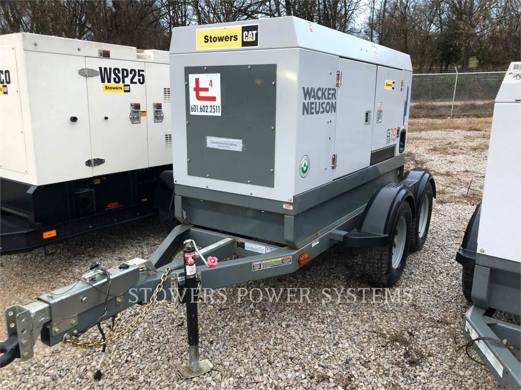 Wacker G70, mobile generator sets, Construction