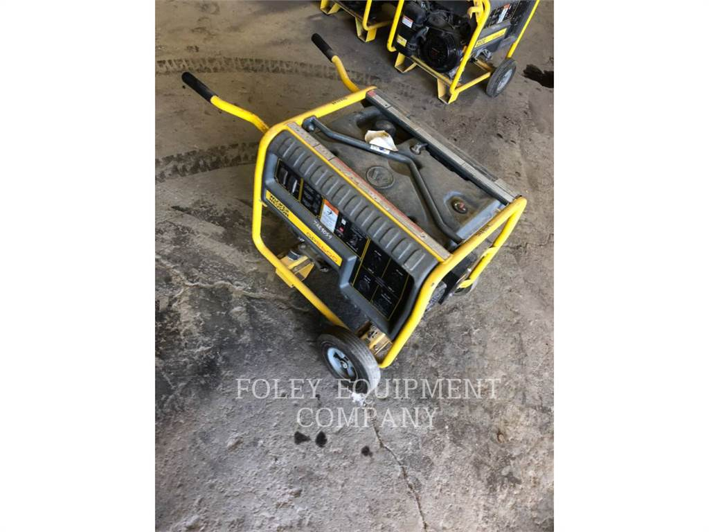 Wacker GP5600A, mobile generator sets, Construction