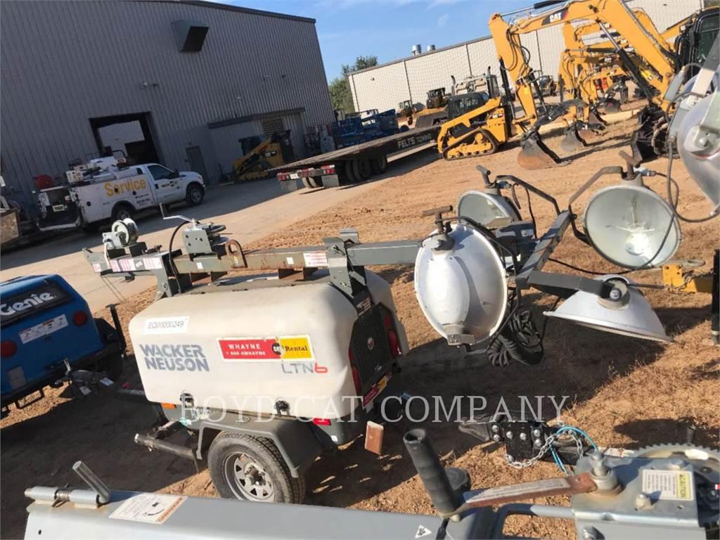 Wacker LITE WAC, light tower, Construction