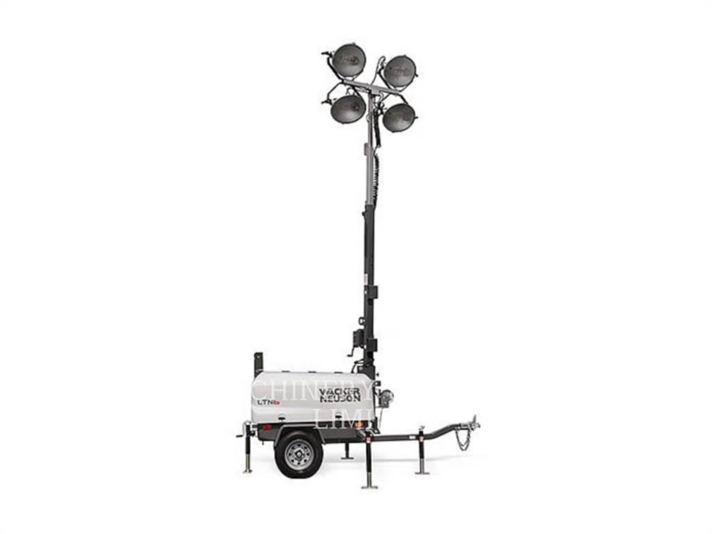 Wacker LTN6K-VS, torre de iluminação, Equipamentos Construção