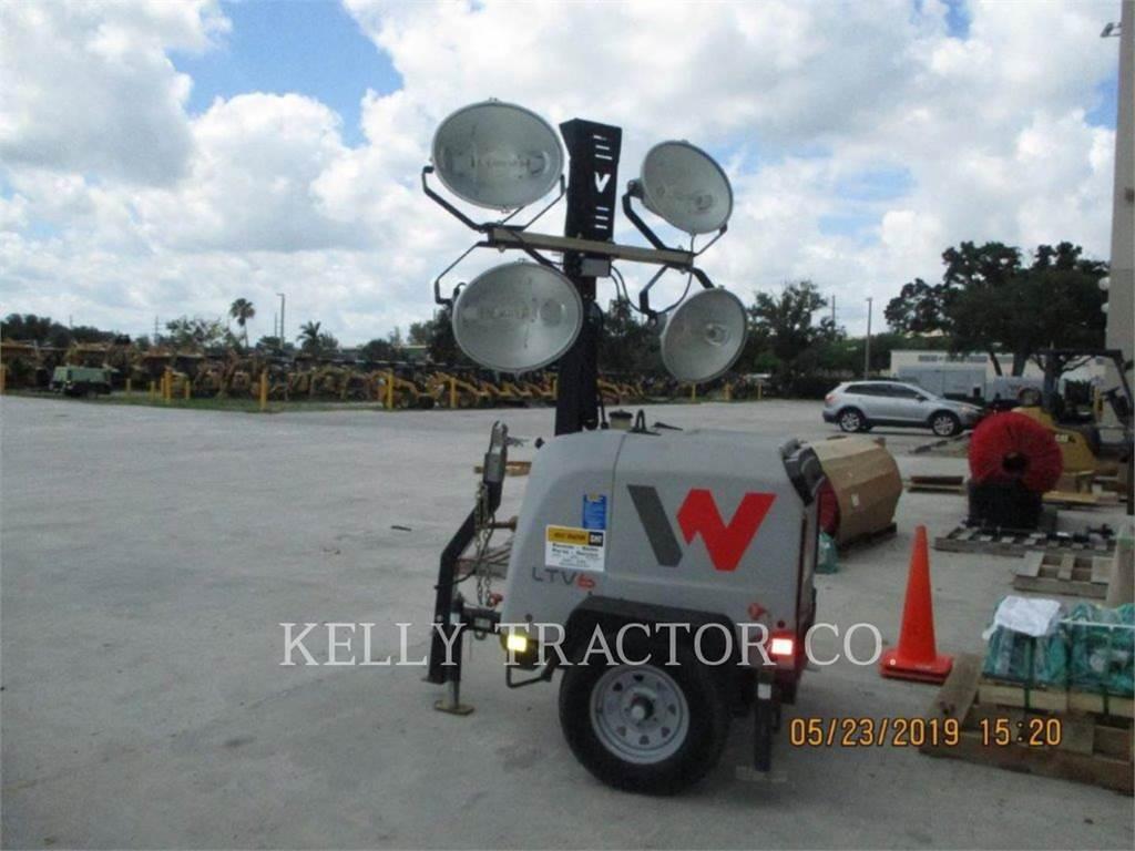Wacker LTV6L, tour d'éclairage, Équipement De Construction
